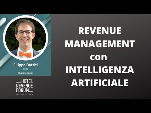 REVENUE MANAGEMENT con INTELLIGENZA ARTIFICIALE (Milano 01/2020)