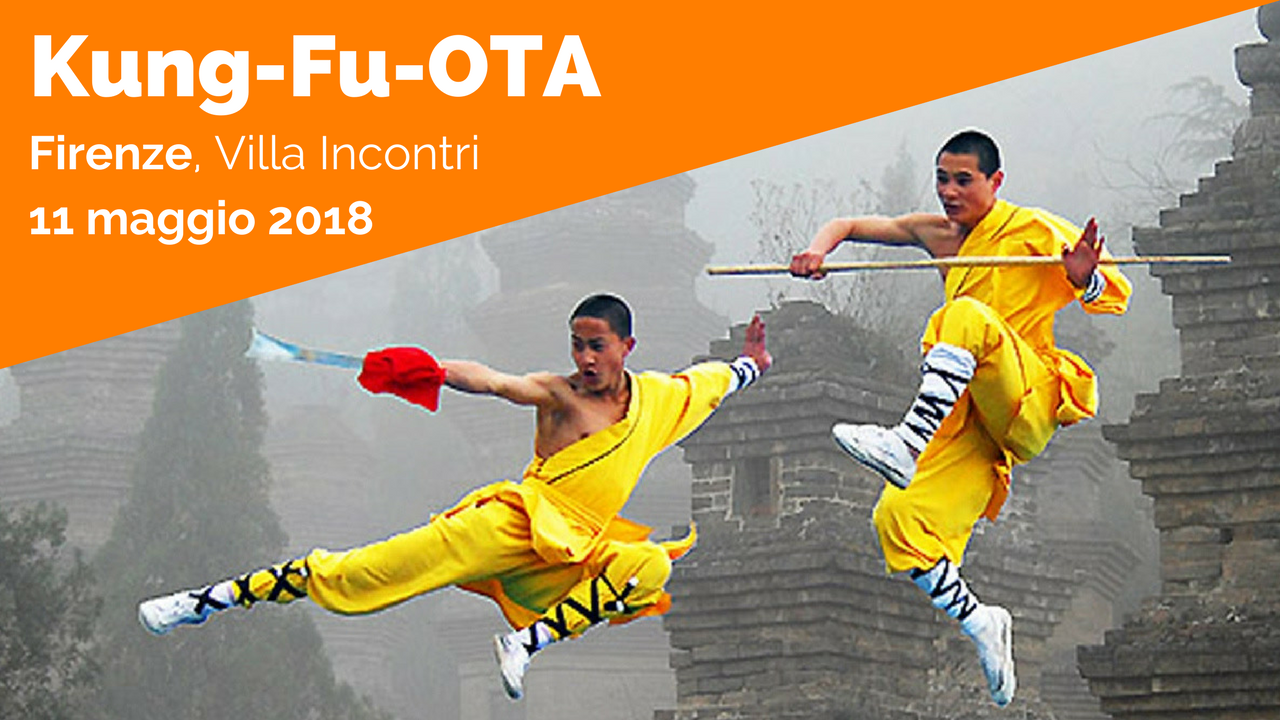 Evento Ciaomanager Kung-Fu-OTA a Firenze