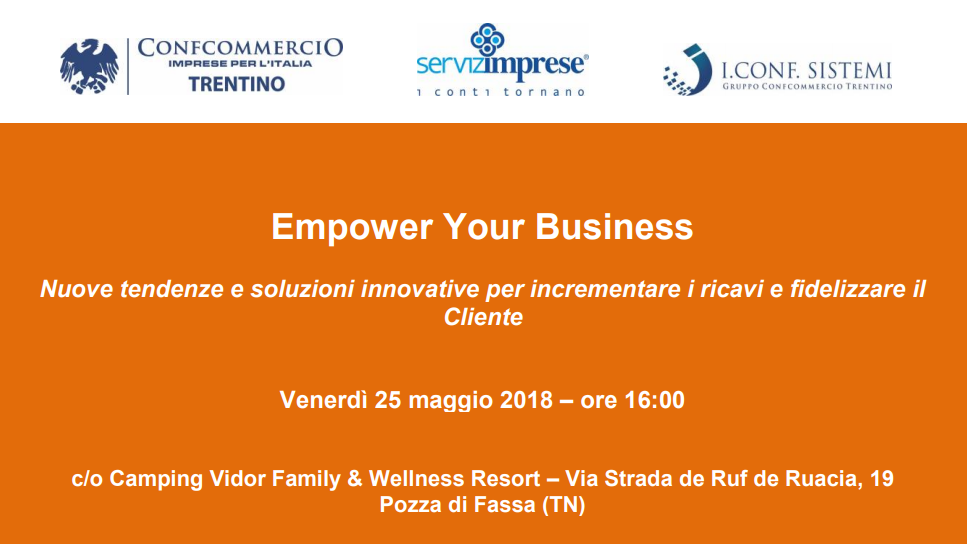 Empower Your Business, Pozza di Fassa