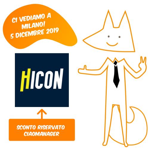 Ciaomanager a Hicon Milano