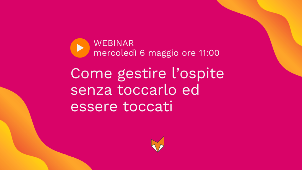 webinar self check-in alberghi