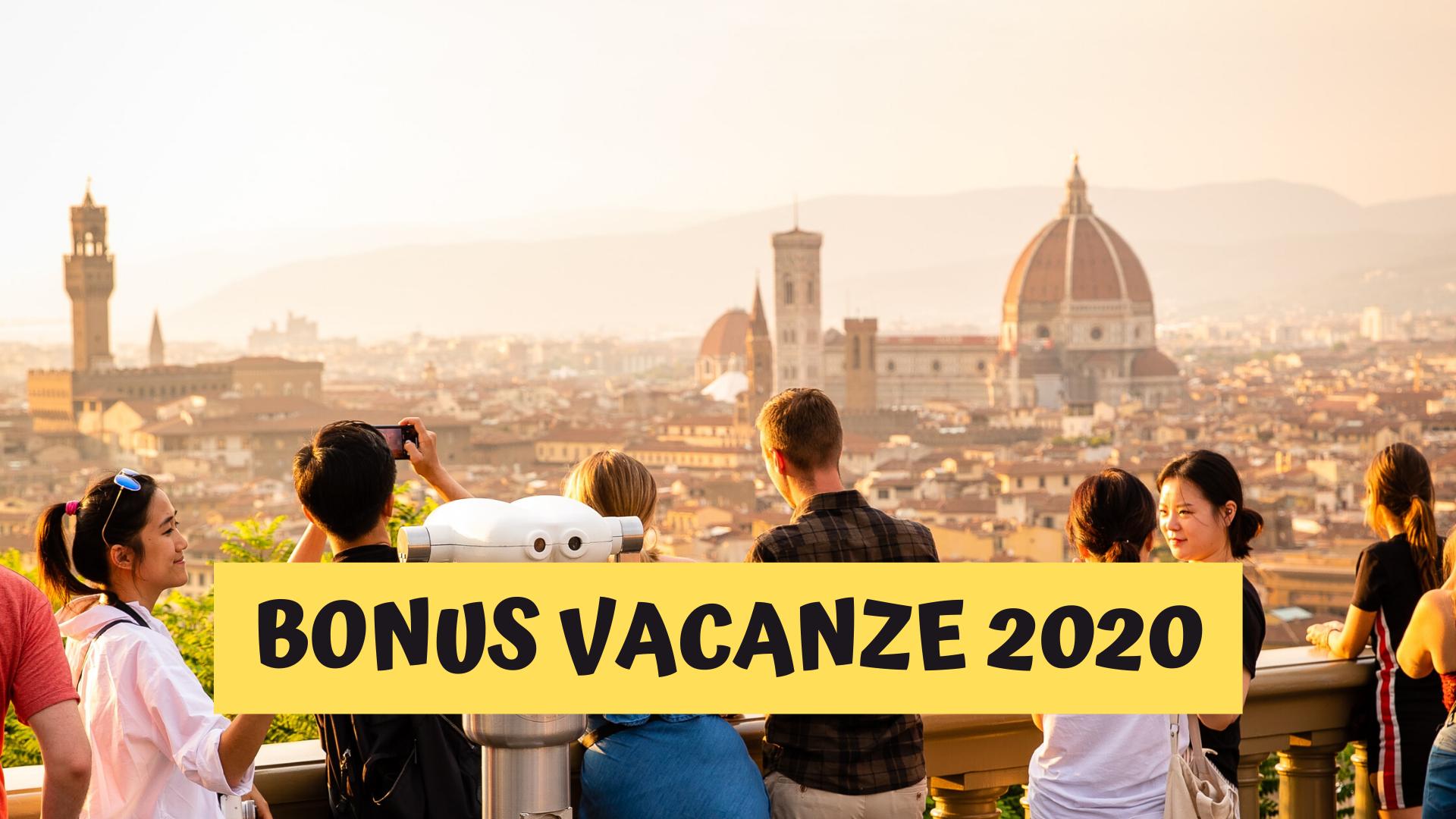 come funziona il bonus vacanze 2020
